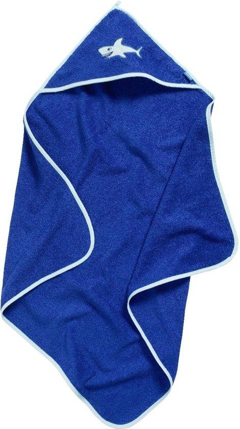 Playshoes UV baddoek Kinderen Haaien - Blauw - Maat Onesize