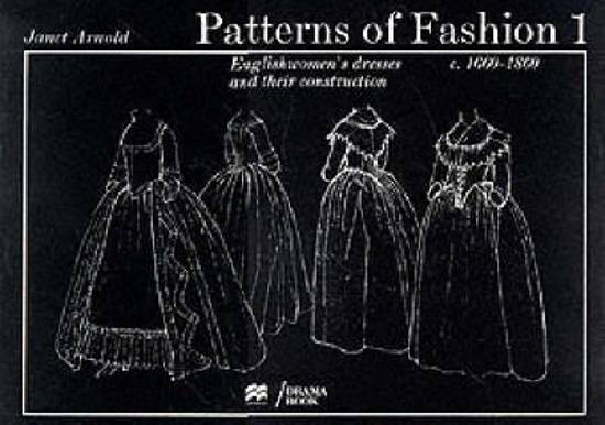 Patterns of Fashion 1 Naaipatronen voor historische kostuums