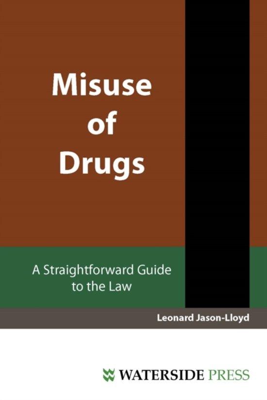 Misuse of Drugs