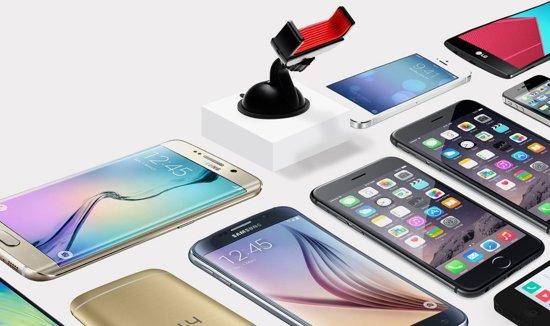 Allgrip Stretch Premium Kwaliteit Autohouder - Telefoonhouder - Auto Houder - Telefoon Houder (Universeel) in Plainevaux