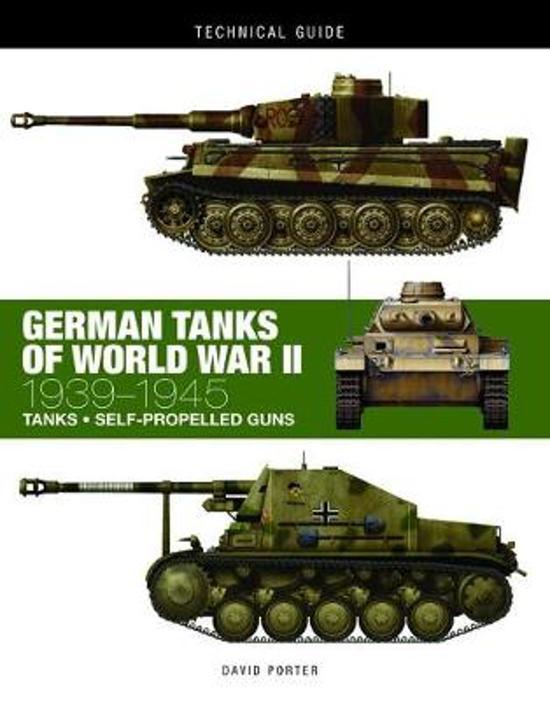 Boek cover German Tanks of World War II van David Porter (Hardcover)