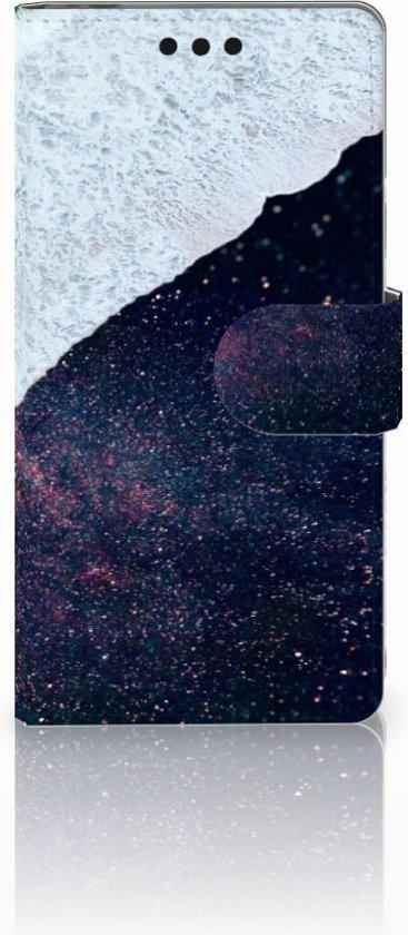 Sony Xperia M4 Aqua Boekhoesje Design Sea in Space