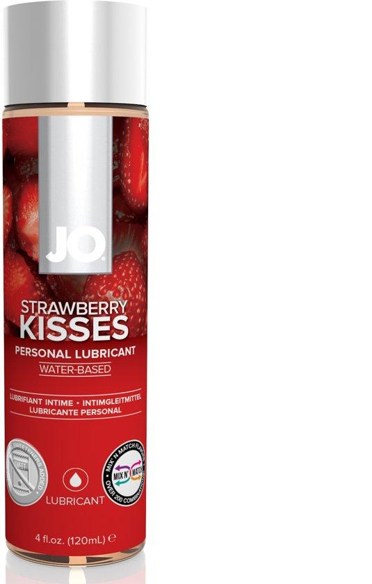 JO H2O Glijmiddel Strawberry Kiss - 120 ml