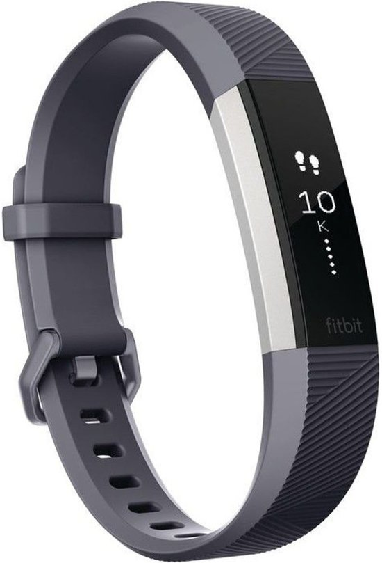 Fitbit Alta HR Activity tracker - Blauw/grijs - Small