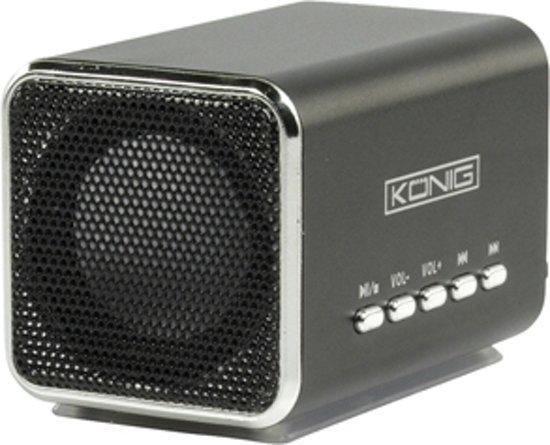 König Portable USB Speaker 2x 3W