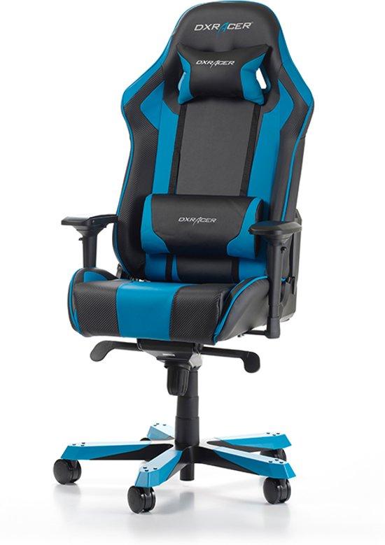 DXRacer King K06 - Gamestoel - Zwart / Blauw