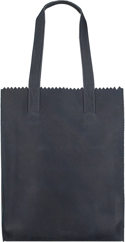 49ceffe6cee bol.com | MYOMY - My Paper Bag Deluxe Office - werktas - Hunter blue ...