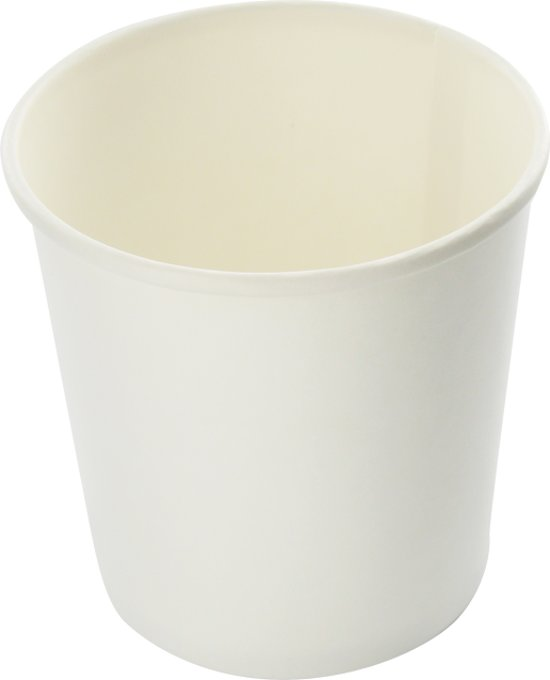 Hotcup soup-to-go beker wit 400 cc 16 oz