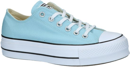ed5dfcb2597 Converse Chuck Taylor All Star Ox Platform Lift - Sneakers - Dames -  Lichtblauw - Maat