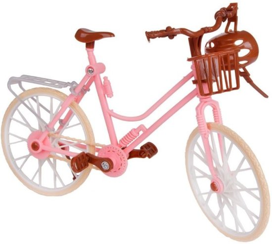 Little New Finds   Barbiefiets   Fiets voor barbie   + Gratis kleding set