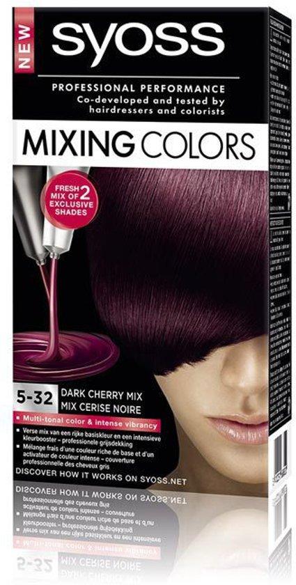 SYOSS Mixing Colors 5-32 Dark Cherry Mix - 1 stuk