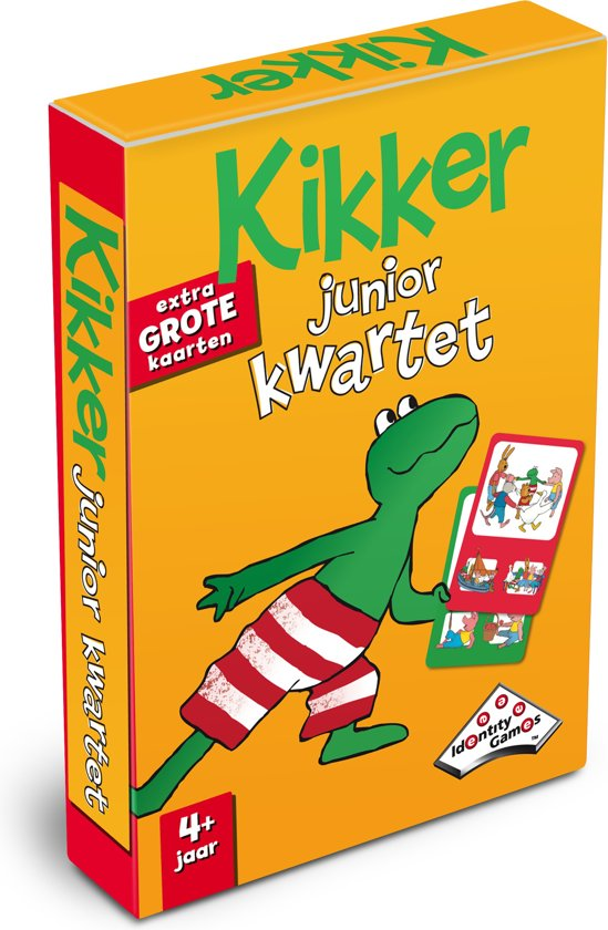 Kikker Junior Kwartet - Kaartspel - Special Edition