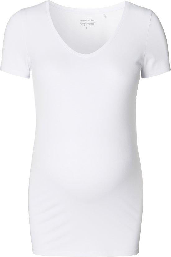 Noppies Zwangerschaps-t-shirt Amsterdam - White - Maat XXL