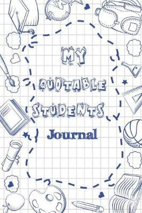My Quotable Students Journal