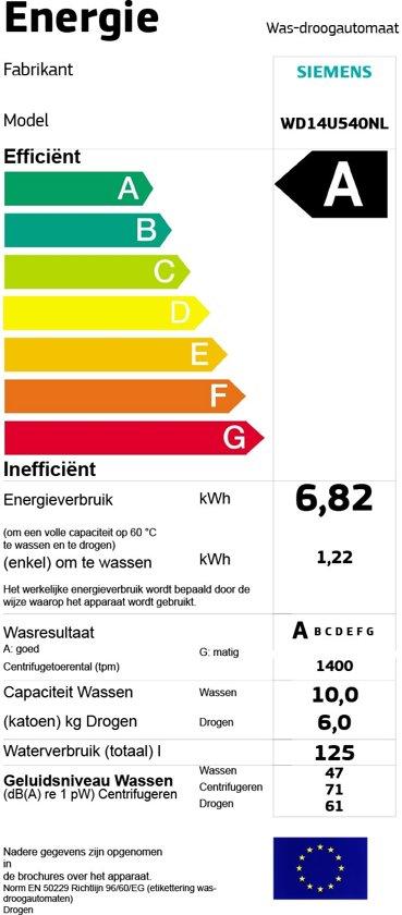 Siemens WD14U540NL