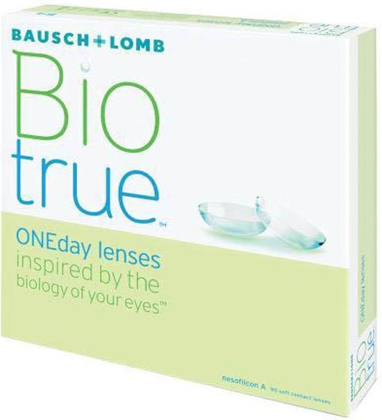 -6,00 Biotrue ONEDay - 90 pack - Daglenzen - Contactlenzen