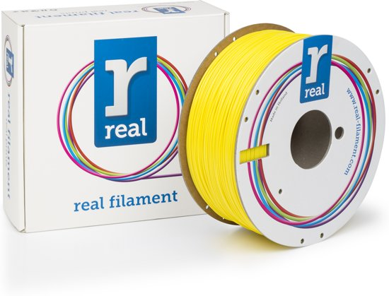 REAL Filament ABS geel 1.75mm (1kg)
