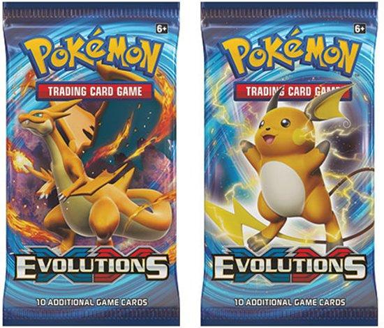 Afbeelding van het spel 2 pakjes Pokemon Kaarten Evolutions Boosterbox