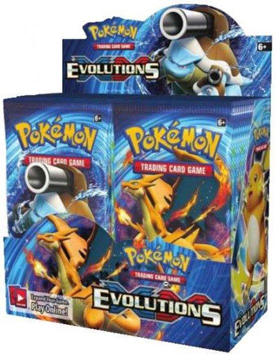 Thumbnail van een extra afbeelding van het spel 2 pakjes Pokemon Kaarten Evolutions Boosterbox