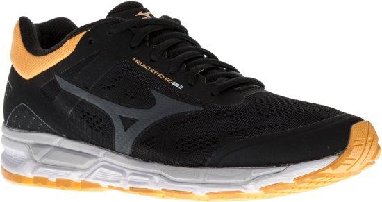 Mizuno Synchro MX Hardloopschoenen - Maat 41 - Vrouwen - zwart - oranje