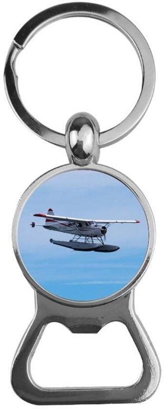Bieropener Glas - Vliegtuig