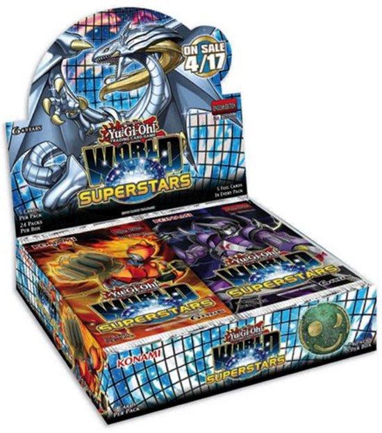 Afbeelding van het spel Yu-Gi-Oh! World Superstars Booster Display