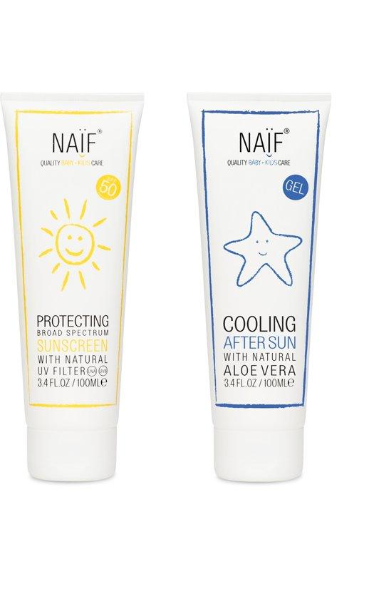 Naif Care Pack Zonnebrandcrème en Aftersun