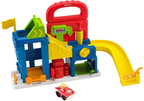 Fisher-Price Little People Wheelies Garage - Speelgoedgarage
