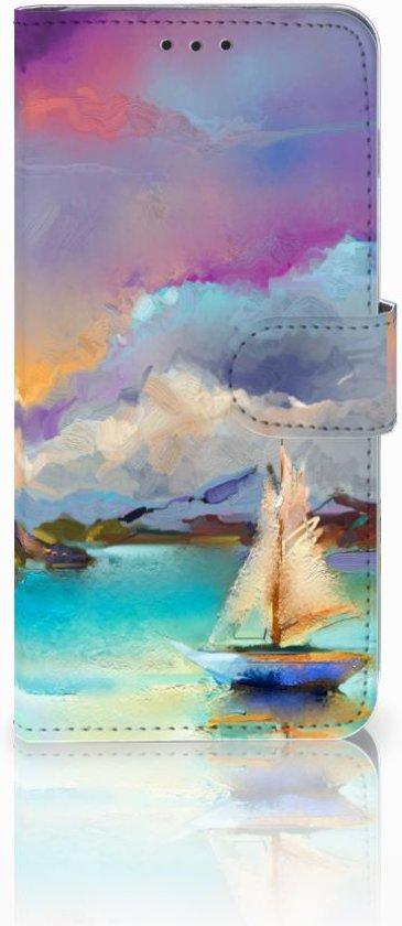 Samsung Galaxy S10 Plus Uniek Boekhoesje Boat