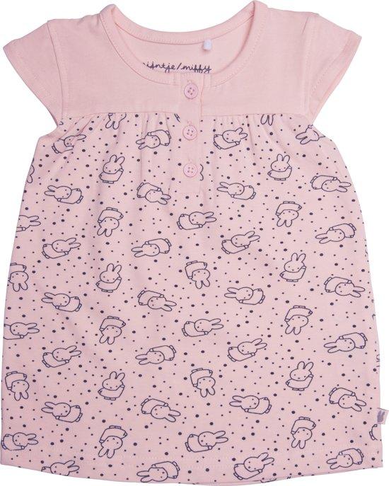 fc8a2314761943 bol.com   Nijntje, meisjes, baby jurkje, roze - maat 56