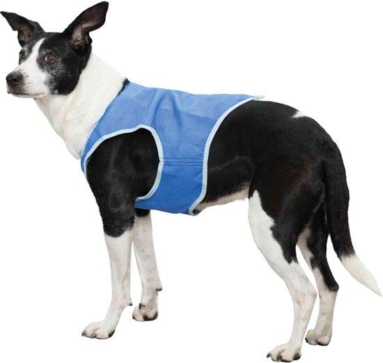 Trixie Koelvest blauw XS ruglengte 20 cm Buikomvang: tot 32 cm