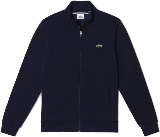Men's M Fleece Full l Zip M Tennis Sport SportjasMaat Blauw Sweatshirt Lacoste Mannen Heren FJK3l1cT