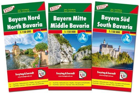 F&B Bayern 3-kaartenset