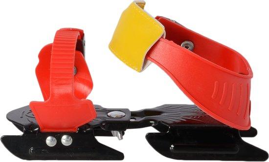 Zandstra Bob Glij-ijzers DeLuxe Junior - Verstelbaar - One Size - Rood