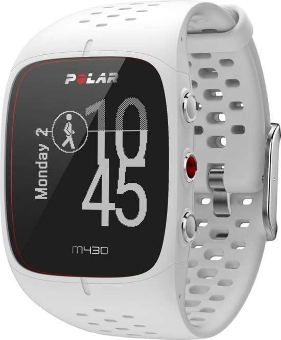Polar M430 GPS Sporthorloge - Wit - Large