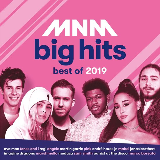CD cover van Mnm Big Hits - Best Of 2019 van MNM