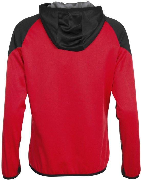 zwart Authentic Rood S Vrouwen Zip Hoodie Trainingsjas Full Maat Hummel CdznqpHBz