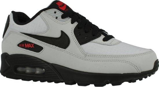 Nike Air Max 90 Essential leren sneakers grijs | wehkamp