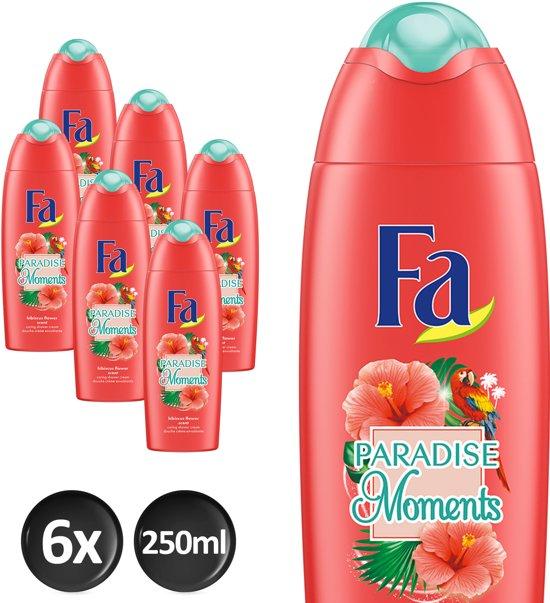 Fa Douchegel Paradise Moments - 6 x 250ml