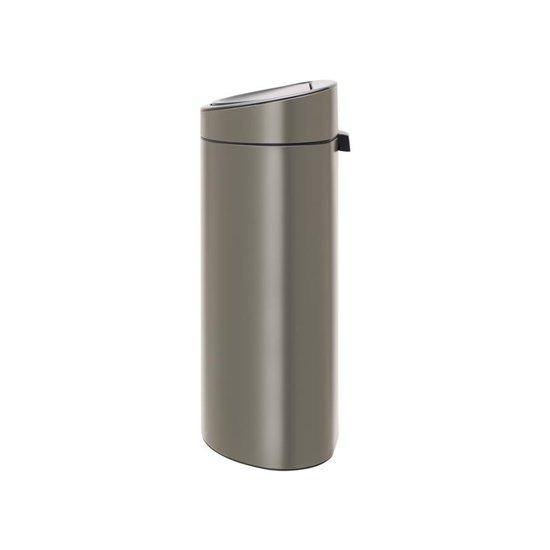 Brabantia Touch Bin 40 Liter Platinum