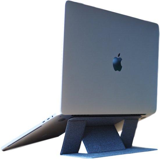 Lappy (Midnight Black) - Laptop standaard voor MacBook   Laptophouder   Laptopsteun [opplakbaar, lichtgewicht, draagbaar, in- en uitklapbaar, verstelbaar, ergonomisch]