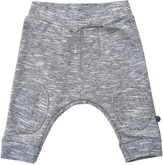 Minymo - baby sweat broek - model hai - grijs