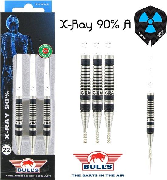 Bull's X-RAY A 90% 22 gram Steeltip Dartpijlen