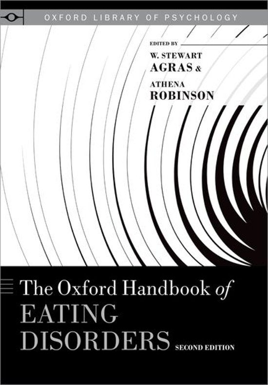 The Oxford Handbook of Eating Disorders