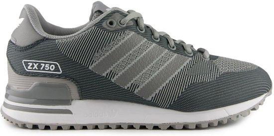 adidas zx 750 grijs zwart