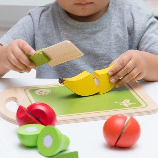 Afbeelding van het spel Fruit Houten Educatief Spel (12 stuks)