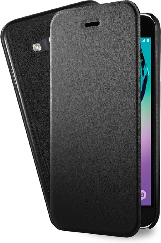 Azuri booklet ultra dun met staanfunctie - Samsung Galaxy J3 - zwart
