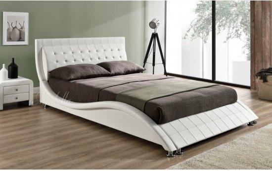 Tweepersoonsbed Beter Bed.Bol Com Tweepersoonsbed Sumoya Wit 140x200 Cm