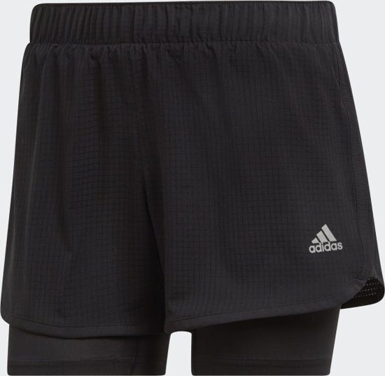 Adidas M10 SHORT W Dames Sportbroek - black - XL4