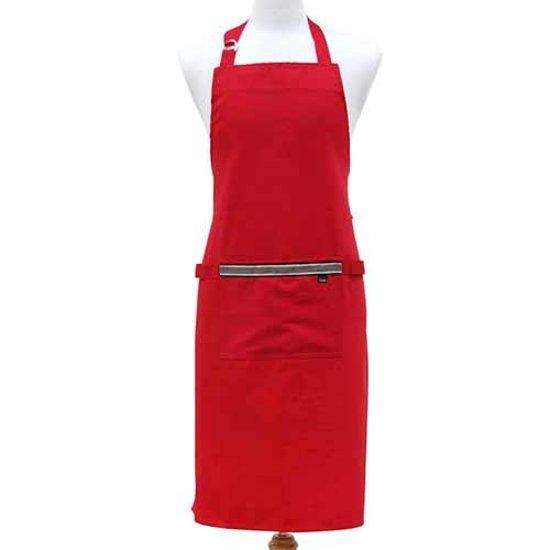 Keukenschort rood, Professional Series II - Ladelle